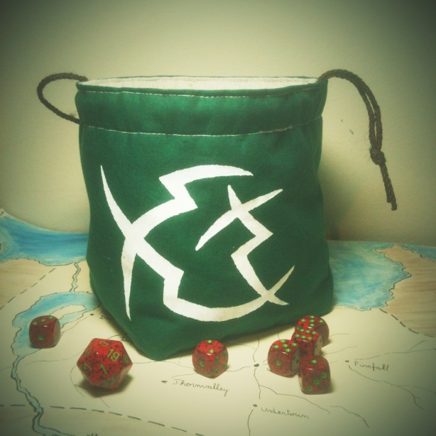 Circle Orboros Inspired Dice Bag